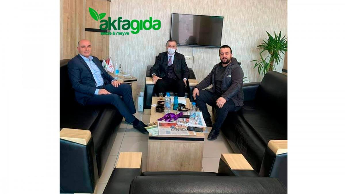 Akfa Gıda Yönetim Kurulu Başkanı Mustafa Boyacı'ya Dostluk Ziyareti