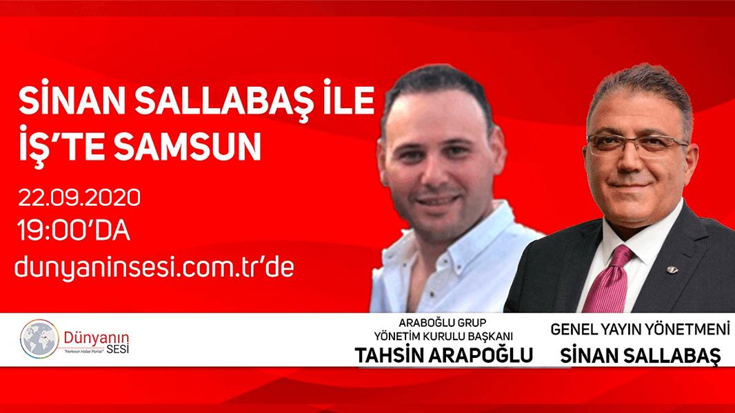 Araboğlu Plastik yönetim kurulu başkanı Tahsin Arapoğlu Dünyanın Sesi'nde