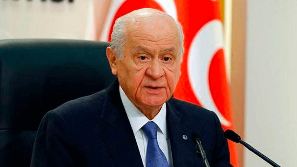 """Bahçeli'den Türk Tabipler Birliği İçin  """"Korona Kadar Tehlikeliler"""" Çıkışı"""