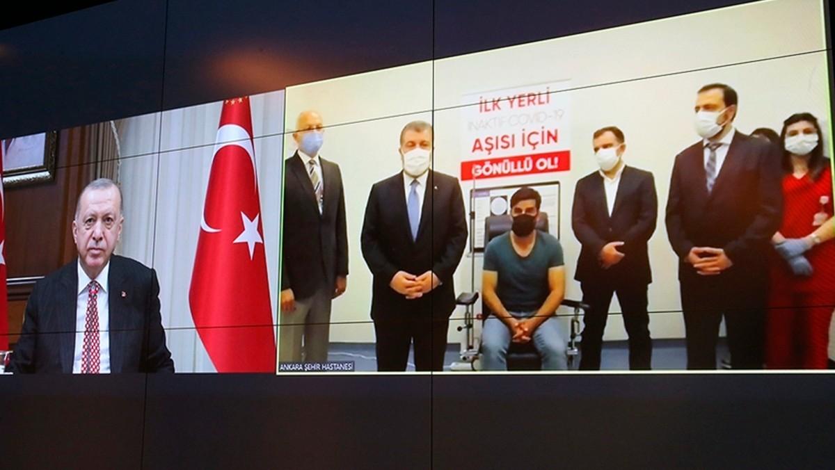 """Cumhurbaşkanı Erdoğan adını ''Turkovac"""" olarak duyurdu"""