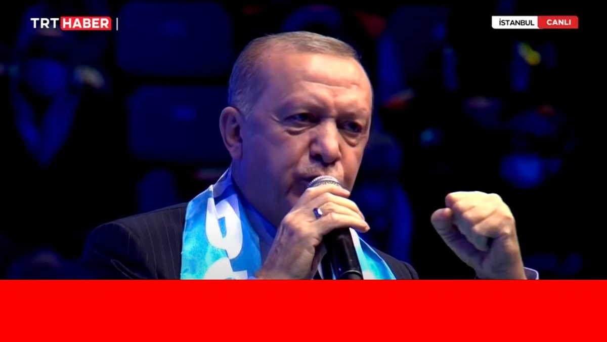 Cumhurbaşkanı Erdoğan, AK Parti 7. Büyük Olağan Kongresi'nde konuştu