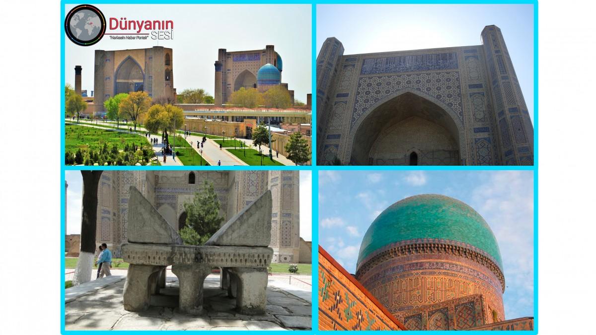 Gök Mavisi Türkistan'ın Turkuaz Kubbeli Görkemli Eserlerinden Biri