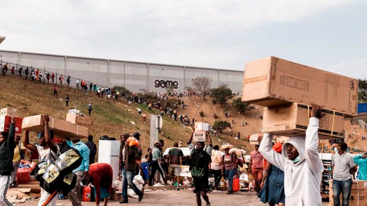 Güney Afrika'daki Yağma Olaylarındaki Can Kaybı Artıyor