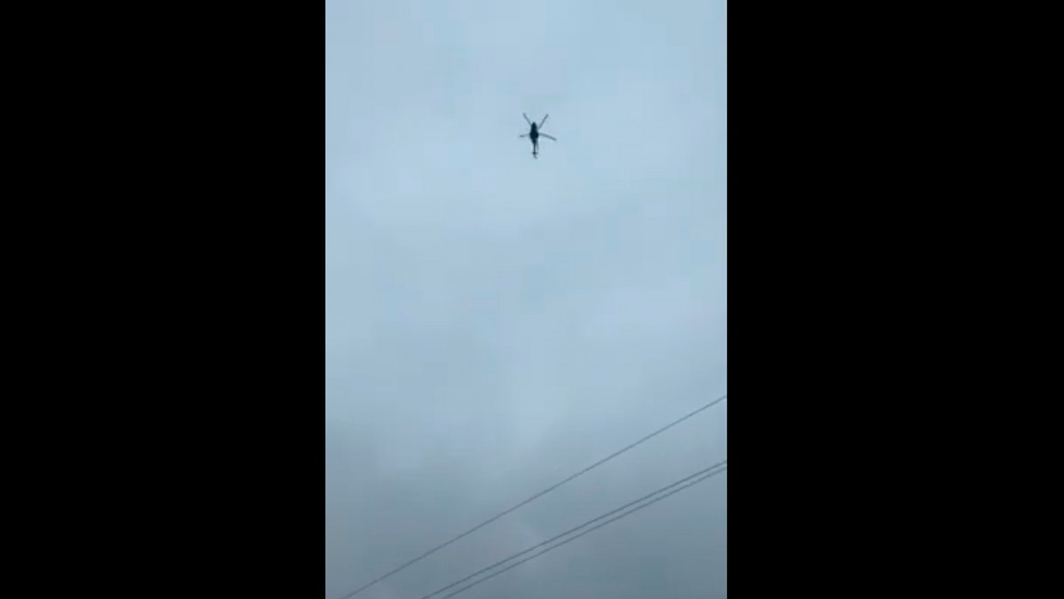 Rus askeri helikopteri o ülkenin hava sahasını ihlal etti