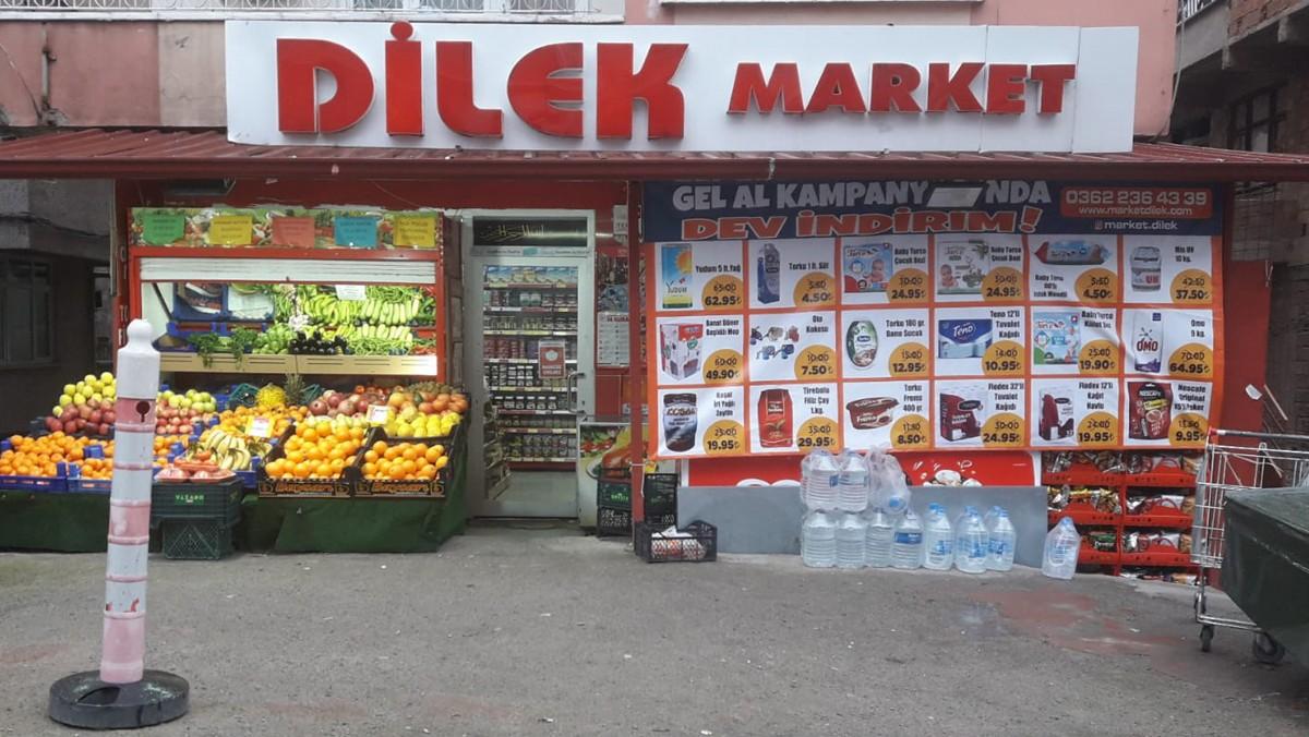 Samsun İlkadım'daki Dilek Market'ten ''Mahalleye Özel İndirim'' Kampanyası