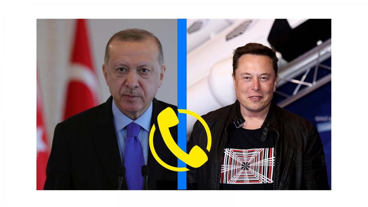 Son Dakika: Cumhurbaşkanı Erdoğan ve Elon Musk Telefonda Ne konuştu?