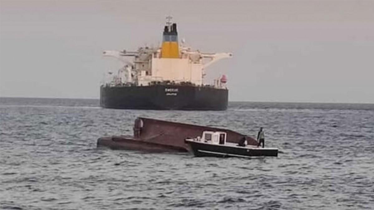 Son dakika haberler... Adana'da Türk bayraklı tekne ile Yunan bayraklı tanker çarpıştı: 5 kişi aranıyor