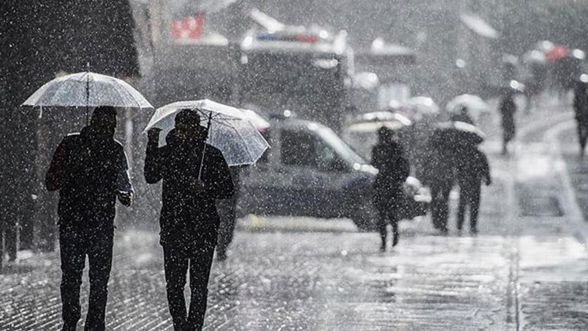 Son dakika hava durumu! Meteoroloji'de sağanak yağmur uyarısı