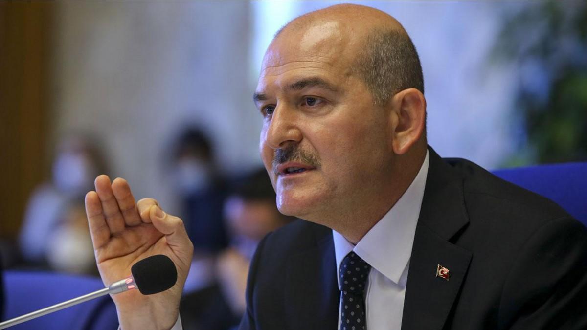 Süleyman Soylu'dan ''Çalışma İzin Belgesi' Açıklaması'