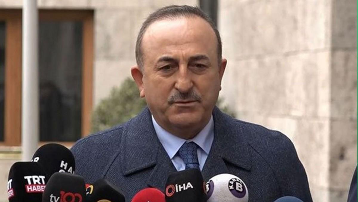 Türk Dışişleri Bakanı Çavuşoğlu'ndan Flaş Açıklama