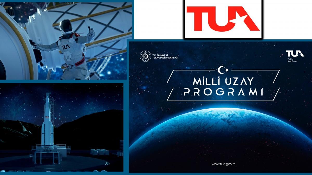 Türk'ün Ay-Yıldızlı Bayrağı Uzay Yolunda