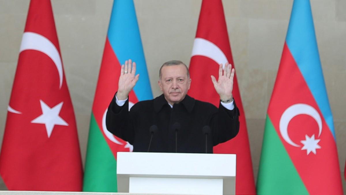 Türkiye Cumhurbaşkanı Erdoğan, Erivan Yönetimine Bakü'den Seslendi