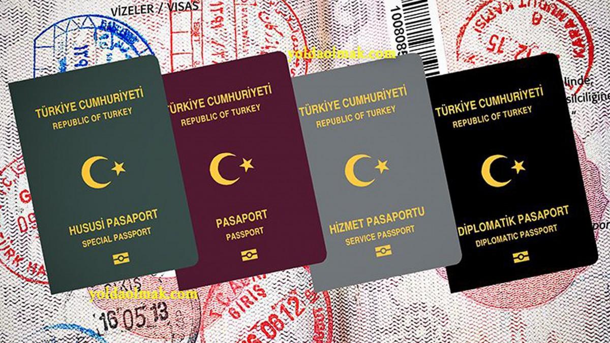 Türkiye Cumhuriyeti Pasaportuyla...
